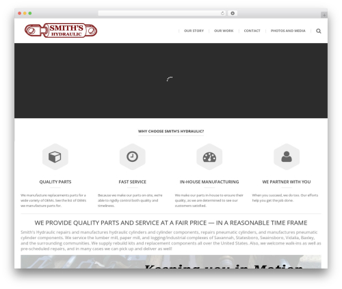 () Bouncy premium WordPress theme - smithshydraulic.com