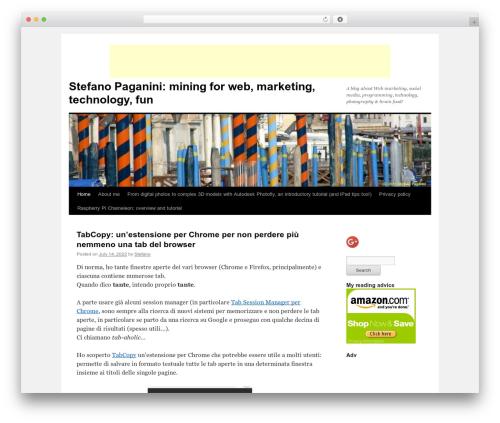 Free WordPress googleCards plugin - stefanopaganini.com