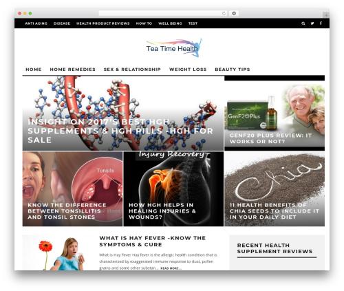 Free WordPress Author hReview plugin - teatimehealth.com