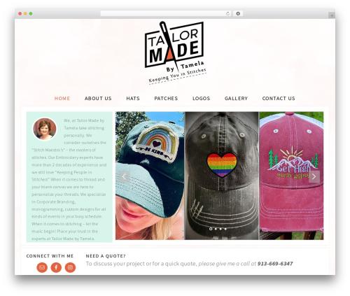 Adorn Theme theme WordPress - tailormadebytamela.com