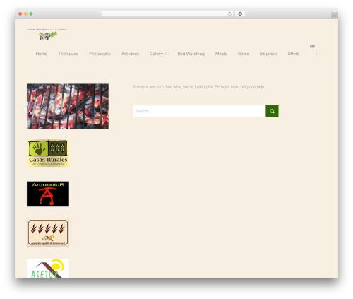 Ample template WordPress free - fincaelromeral.com