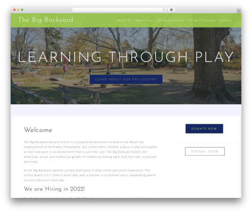 Astrid WordPress theme download - thebigbackyard.net