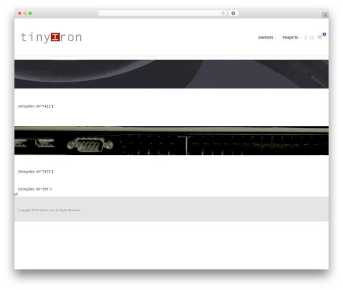 Best WordPress template Immensely - tinyiron.net