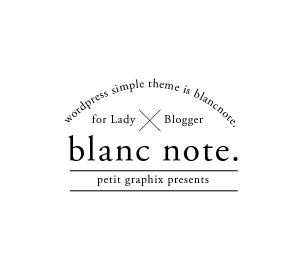 blanc note WordPress website template