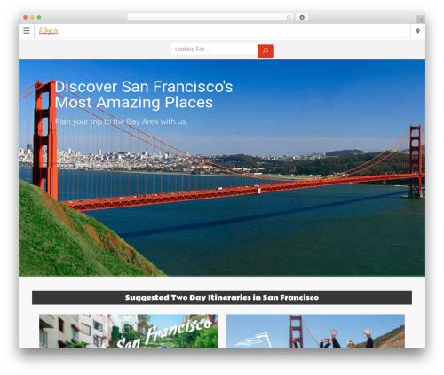 Directory 2 top WordPress theme - twodaysinsanfrancisco.com
