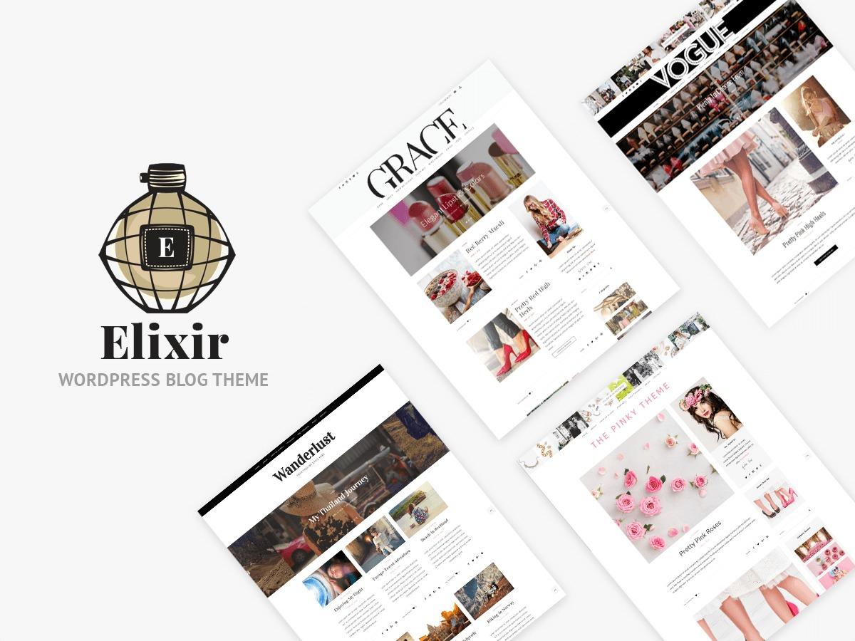 ElixirPT WordPress blog template