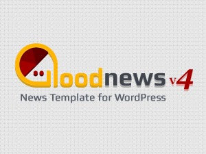 Good News WordPress news template