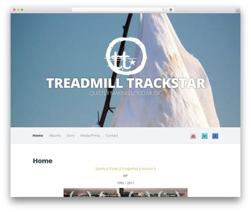 Harmony WordPress template - treadmilltrackstar.com