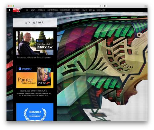 Kaleido for WordPress WordPress theme - taaeb.com