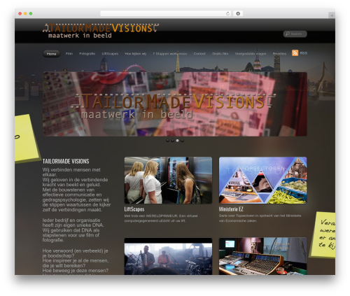 PhotoTouch template WordPress - tailormadevisions.nl