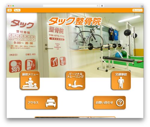 Smartpress free WP theme - tac-seikotsu.com