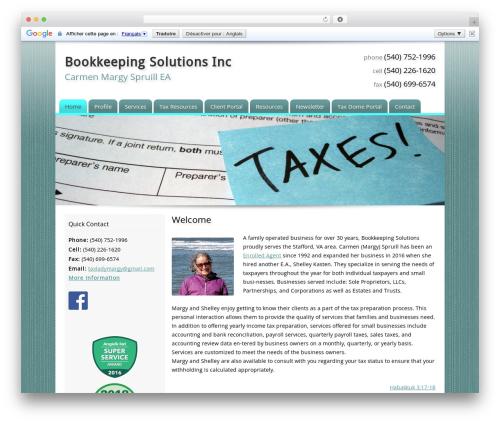 Template WordPress Customized - taxladymargy.com
