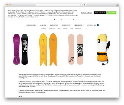 The Retailer WordPress shop theme - trytheunfamiliar.de