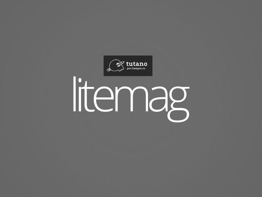 Theme WordPress Litemag - Tutano Theme