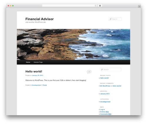 Twenty Eleven template WordPress free - financialadvisorvictoria.com