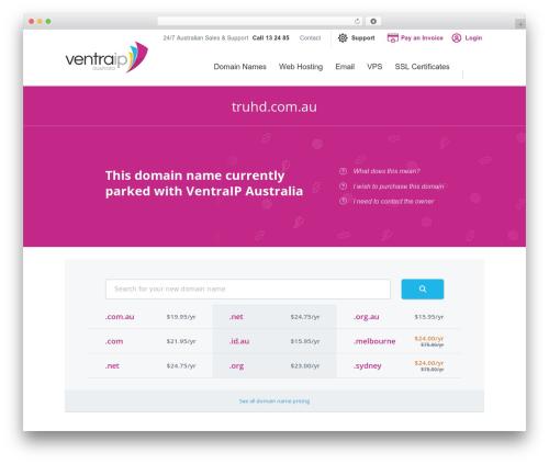 VentraIP Australia WordPress theme - truhd.com.au
