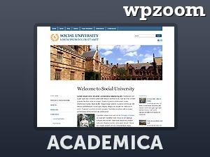 WordPress template Academica 2