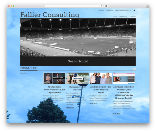 WordPress theme Albedo - fallier.com