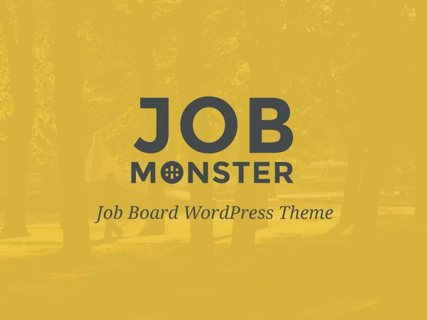 WordPress theme JobMonster