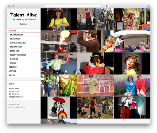 WordPress theme Other - talentalive.nl