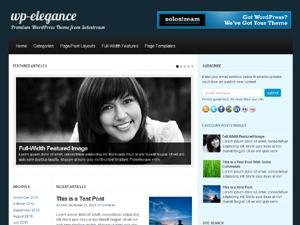 WP-Elegance best WordPress theme