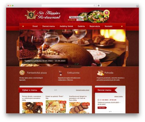 Bordeaux Premium Theme WP template - sirhiggins.sk