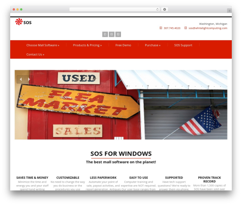 Felicity Pro WordPress theme - sosmallsoftware.com