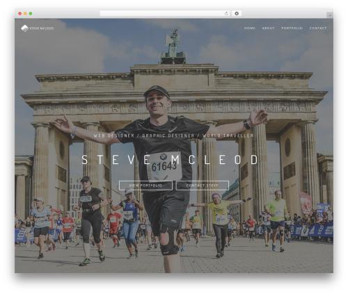 Rhythm WordPress theme - stevegm.com