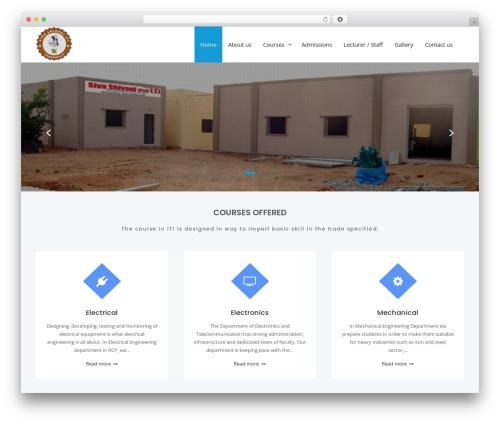 Theme WordPress Business Club - sivashivaniiti.com