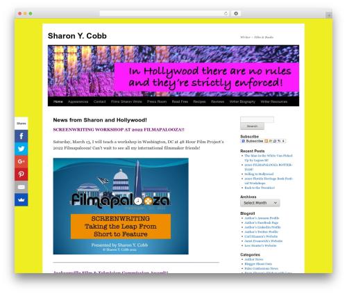 Twenty Ten free website theme - sharonycobb.com