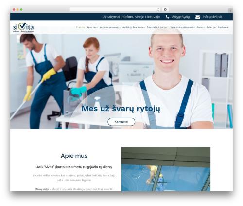 WordPress theme Starflix - sivita.lt