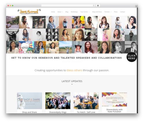Asher WordPress theme - sharemovement.net