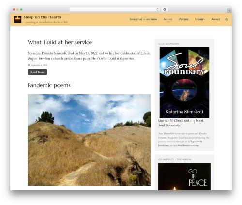 Best WordPress template Layers - sleeponthehearth.com
