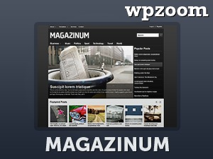 WordPress theme Magazinum