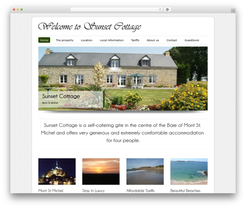 ColorWay Theme template WordPress - sunsetcottage-montstmichel.com