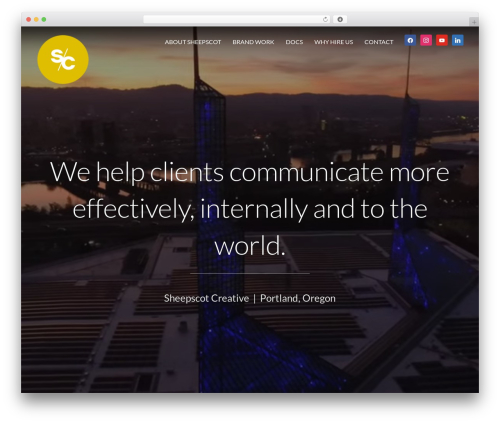 Inspiro top WordPress theme - sheepscotcreative.com