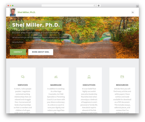Kahuna WordPress theme free download - shelmiller.com