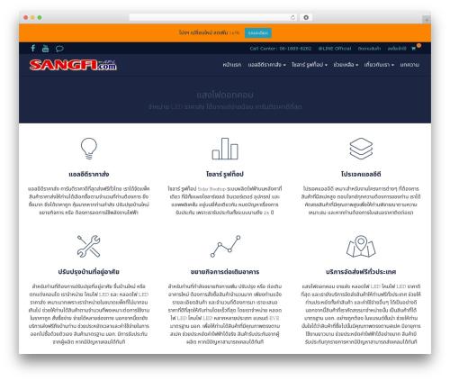 Best WordPress theme Pinnacle - sangfi.com