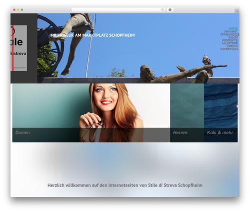 cherry WordPress theme - stiledistreva.de