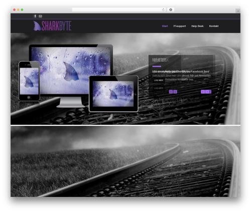 Emporium best WordPress theme - sharkbyte.se