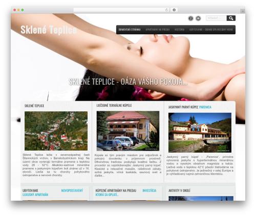 Travel Lite premium WordPress theme - skleneteplice.sk/?eu