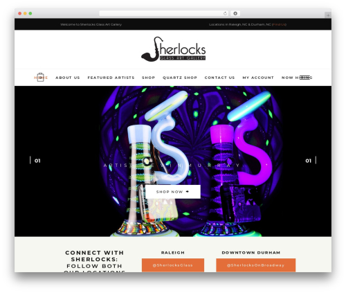 Voevod best WordPress theme - sherlocksglass.com