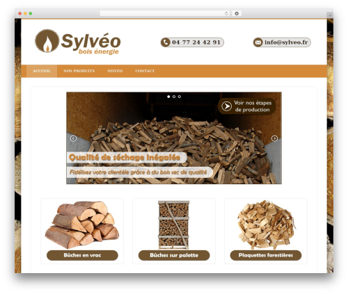 WordPress template Pinboard - sylveo.fr