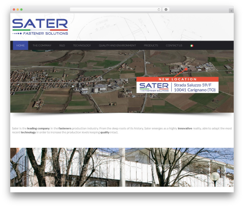 WordPress template Shard - sater.it