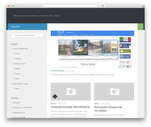 Free WordPress Albo Pretorio On line plugin - scuolavimodrone.it