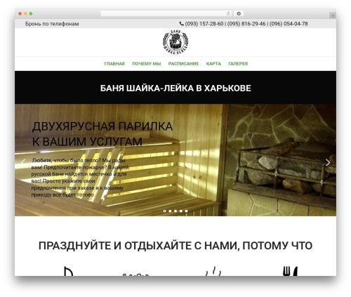 Suave WordPress theme - shaika.com.ua