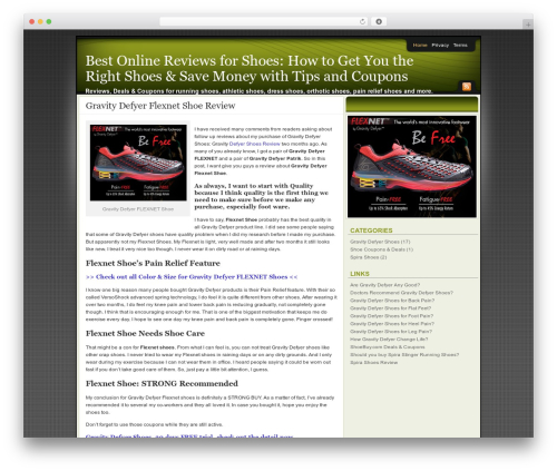 WordPress template Affiliate Internet Marketing theme - shoes.reviewinfobase.com