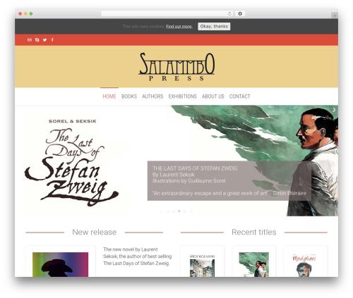 WordPress template The7 - salammbopress.com