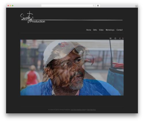 base WordPress page template - sweitzerproductions.com
