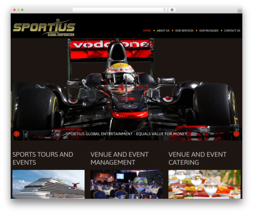 cherry WP template - sportius.com.au